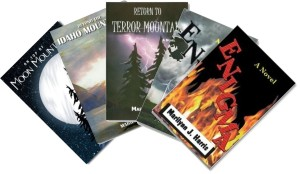 5 Adventure Books by Marilynn J. Harris